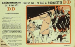 Buvard-DD BAS Soquettes-232 - Buvards, Protège-cahiers Illustrés