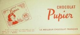 Buvard-PUPIER-Chocolat-236 - Buvards, Protège-cahiers Illustrés
