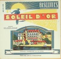 Buvard-SOLEIL D'OR-Biscotte-247 - S