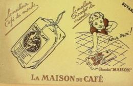 Buvard-LA MAISON Du CAFE-298 - Papel Secante