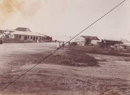 1902 Belle Photo De Madagascar Vue De Majunga Provenance Maison Garnier 24x18cm - Lieux