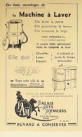 Buvard-P.A.M.MACHINE à LAVER-Lyon-326 - Papel Secante