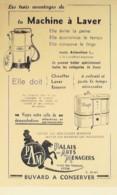 Buvard-P.A.M.MACHINE à LAVER-Lyon-326 - Blotters