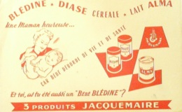 Buvard-BLEDINE JACQUEMAIRE-13-- - Buvards, Protège-cahiers Illustrés