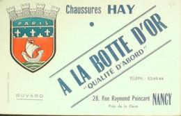 Buvard-HAY-NANCY- Chaussure-24 - Buvards, Protège-cahiers Illustrés