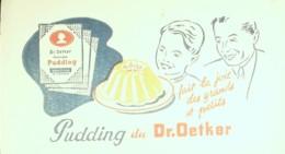 Buvard-PUDDING Du Dr OETKER-30 - Papel Secante