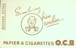 Buvard-O.C.B.-Papier à Cigarette-35 - Löschblätter, Heftumschläge
