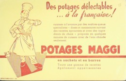 Buvard-MAGGI-Potage-38 - Papel Secante