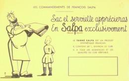Buvard-SALPA FRANCOIS-Emballage-49 - S