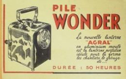 Buvard-WONDER-Eclairage-68 - Löschblätter, Heftumschläge