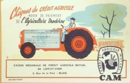 Buvard-C.A. MUTUEL LOIR Et CHER-Banque-71 - C