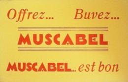Buvard-MUSCABEL-Boisson-76 - Papel Secante