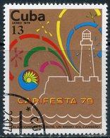 """Y85 CUBA 1979 2412 Airmail - Festival """"Carita 79"""", Havana - Cuba"""