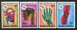 Maldive Islands 1977 World Rheumatism Set HM (SG 726-729) - Maldives (1965-...)