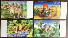 Central African Republic 2001 Dinosaurs Prehistoric Animals MNH - Stamps