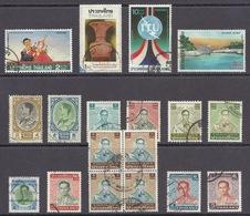 Thailand - King Bhumibol Adulyadej, Folklore, Mask, Art, Dam - Different Used - Thailand