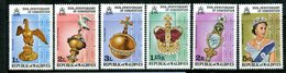 Maldive Islands 1978 25th Anniversary Of Coronation Set HM (SG 755-760) - Maldives (1965-...)