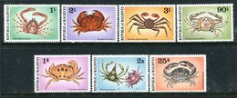 Maldive Islands 1978 Crustaceans Set HM (SG 770-776) - Maldives (1965-...)