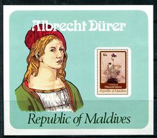 Maldive Islands 1978 450th Death Anniversary Of Albrecht Durer MS HM (SG MS784) - Maldives (1965-...)