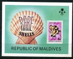 Maldive Islands 1979 Shells MS HM (SG MS805) - Maldives (1965-...)