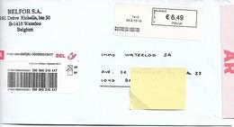 Envoi Recommandé Avec AR - Belgique