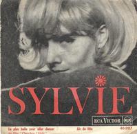 """SP 45 RPM (7"""") Sylvie Vartan  """" La Plus Belle Pour Aller Danser """" - Vinyl Records"""