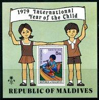Maldive Islands 1979 International Year Of The Child MS HM (SG MS816) - Maldives (1965-...)