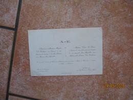 BERVILLE LA CAMPAGNE ET LA HOUSSAYE LE 13 AVRIL 1948 MADEMOISELLE JULIENNE VAN EECKHAUTE ET MONSIEUR JEAN ARFEUILLERE - Mariage