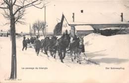 Suisse - Le Passage Du Triangle - Le Chasse-neige - Der Schneepflug - Andere