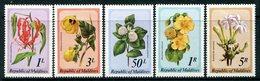 Maldive Islands 1979 Flowers Set HM (SG 827-831) - Maldives (1965-...)