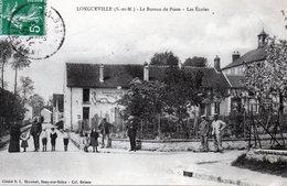 LONGUEVILLE     Le Bureau De Poste, Les Ecoles Et Les Habitants Du Quartier - Francia
