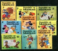 Maldive Islands 1979 International Year Of The Child - Walt Disney Set HM (SG 838-846) - Maldives (1965-...)