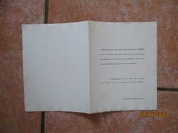 SAINT-FELIX DE LODEZ MONTPELLIER LE 5 JUILLET 1949 MADEMOISELLE FRANCE NICHET ET MONSIEUR CHRISTIAN DE RICARD - Mariage