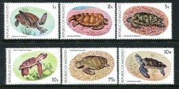 Maldive Islands 1980 Turtle Conservation Campaign Set HM (SG 853-858) - Maldives (1965-...)