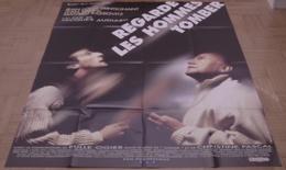 AFFICHE CINEMA ORIGINALE FILM REGARDE LES HOMMES TOMBER AUDIARD TRINTIGNANT YANNE KASSOVITZ 1994 TBE - Affiches & Posters