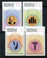 Maldive Islands 1980 75th Anniversary Of Rotary International Set HM (SG 860-863) - Maldives (1965-...)