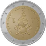 Italia - 2 Euro Vigili Del Fuoco - MONETA DA ROTOLINO - Italy