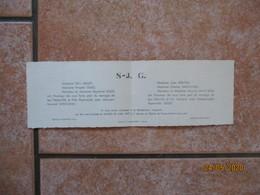 BERVILLE LA CAMPAGNE GROSLEY SUR RISLE LE 26 AVRIL 1947 RAYMONDE GILLES ET MONSIEUR FERNAND SAINT-JEAN - Mariage