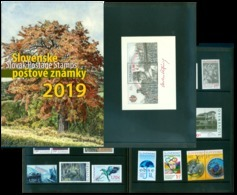Slovakia - 2019 - Complete Year Set - Mint Stamps And Souvenir Sheets - Slovakia