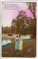 Cpa Fantaisie Femmes - Irisa 3287 - Mujeres