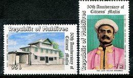 Maldive Islands 1981 50th Anniversary Of Citizen's Majlis Set HM (SG 922-923) - Maldives (1965-...)