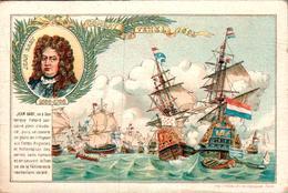 Combat De Grenade En 1779 Avec D'Estaing Et Combat Du Texel 1694 Avec Jean Bart - Andere Kriege
