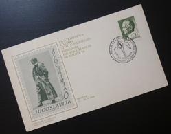 Yugoslavia 1984 Cover Slovenia Croatia Philately Exhibition Mostar Bosnia BB52 - 1931-1941 Kingdom Of Yugoslavia