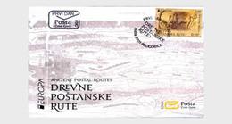 Montenegro - Postfris / MNH - FDC Europa, Oude Postroutes 2020 - Montenegro