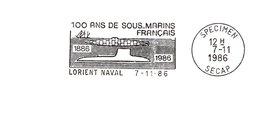 Thème Sous-marins - Flamme Secap SPECIMEN - TB - Sous-marins