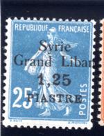 1923 - SIRIA - Mi.  Nr. 190 - LH - (S.......) - Syrien