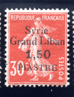 1923 - SIRIA - Mi.  Nr. 192 - LH - (S.......) - Syrien