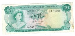 Bahamas 1 Dollar , (Act 1974), VF/XF - Bahamas