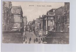 MALTA  Valletta Strada Reale Ca 1920 Old Postcard - Malta