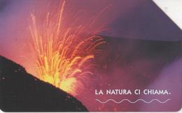 USATA--1600-TELECOM ITALIA-LA NATURA CI CHIAMA- ETNA - Bergen